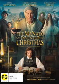 The Man Who Invented Christmas on DVD image