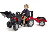 Falk: Case IH Puma Pedal Tractor - Front Loader with Trailer