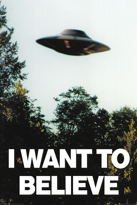 The X-Files Maxi Poster - I Want to Believe (932)