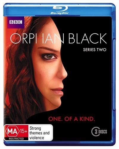 Orphan Black Series 2 on Blu-ray