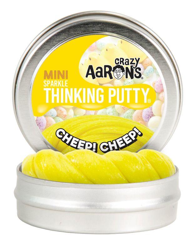 Crazy Aarons Thinking Putty: Cheep! Cheep! - Mini Tin