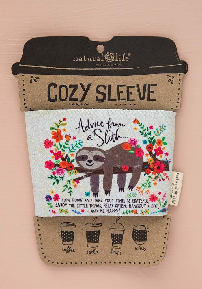 Natural Life: Cozy Sleeve - Advice From A Sloth image