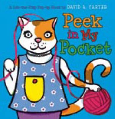 Peek in My Pocket by David A Carter image