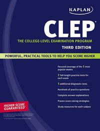 Kaplan CLEP: The College-level Examination Program by Anaxos Inc. image