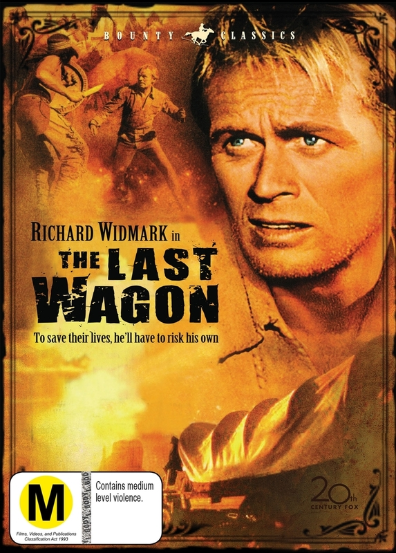 The Last Wagon DVD