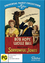 Sorrowful Jones on DVD