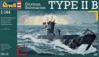 Revell: 1/144 U-Boat Type IIB - Model Kit