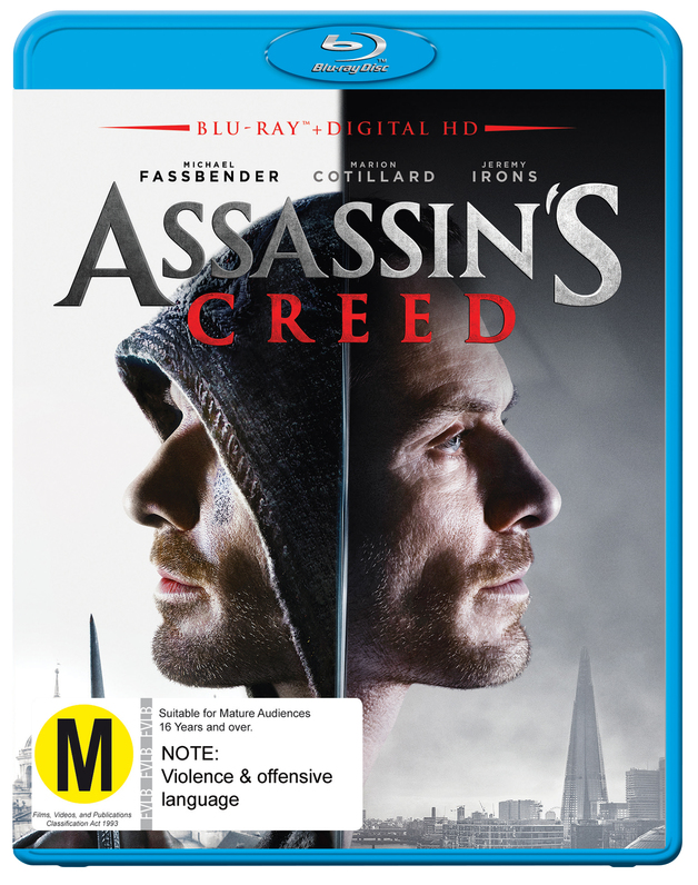 Assassin's Creed on Blu-ray