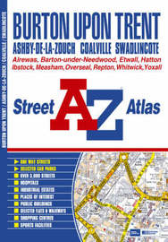 Burton Upon Trent Street Atlas by Geographers A-Z Map Company image