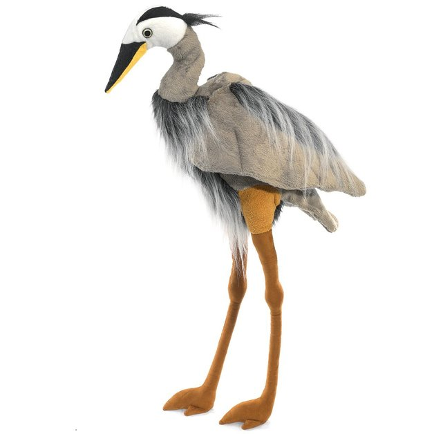 Folkmanis Hand Puppet - Great Blue Heron