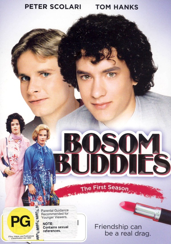 Bosom Buddies - Season 1 (3 Disc Set) on DVD image