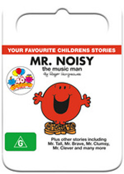 Mr Men & Little Miss: Mr Noisy The Music Man on DVD image