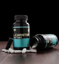Optimum Nutrition L-Carnitine 500mg (60 Tabs) image