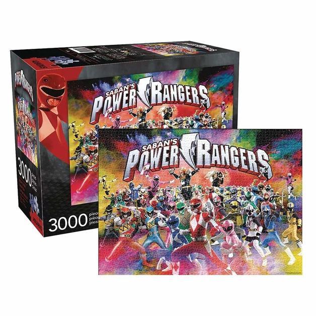 Power Rangers Universe 3000pc Puzzle