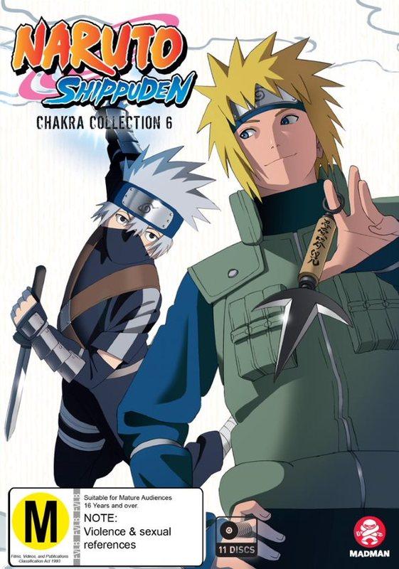 Naruto Shippuden Chakra - Collection 6 (Eps 356-430) on DVD