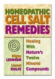Homeopathic Cell Salt Remedies by Nigel Lennon