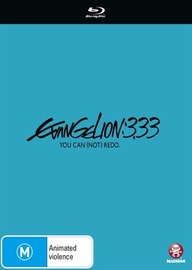Evangelion 3.33 You Can (Not) Redo on Blu-ray