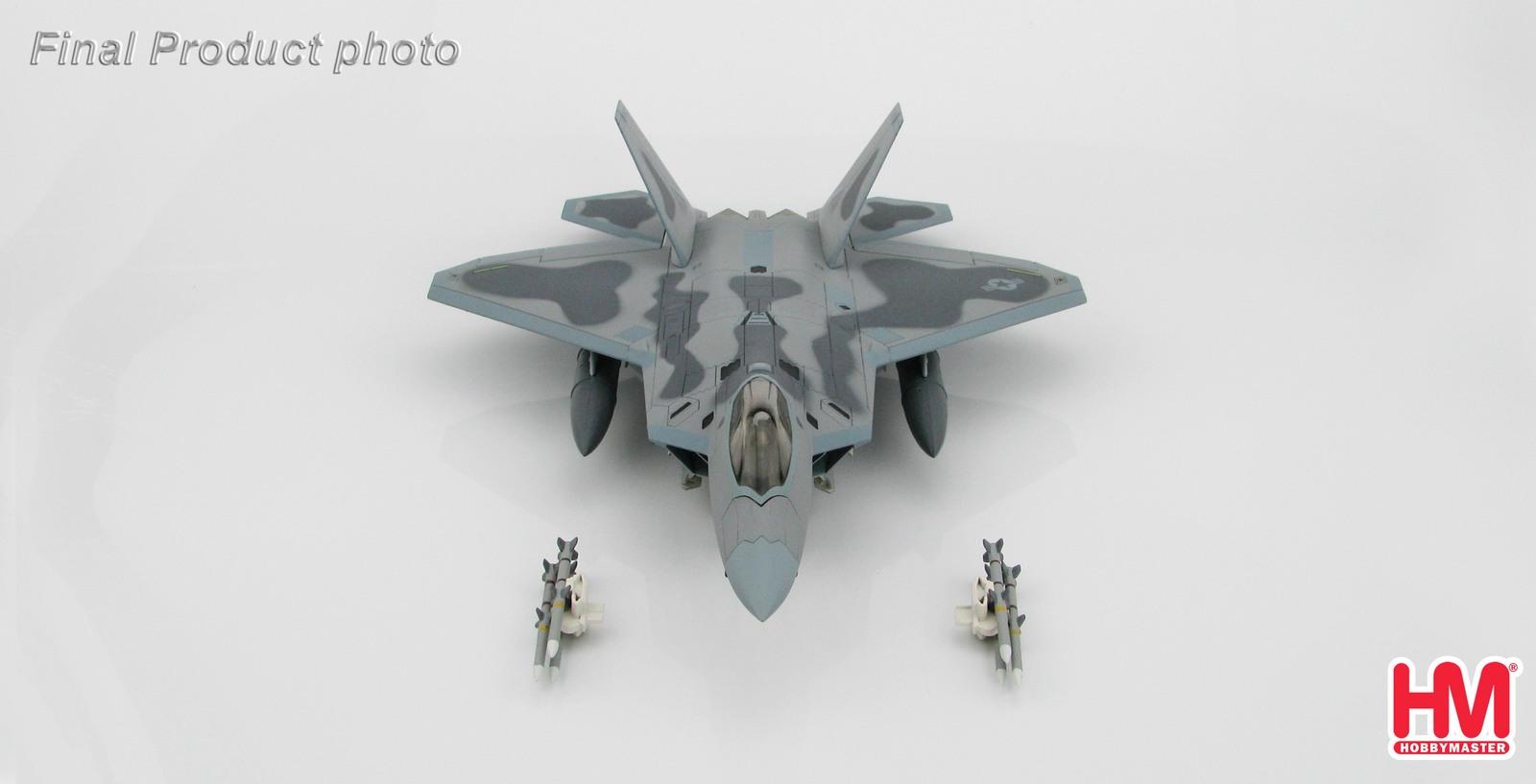 """Hobby Master: 1/72 Lockheed F-22 Raptor """"Maloney's Pony"""" - Diecast Model image"""
