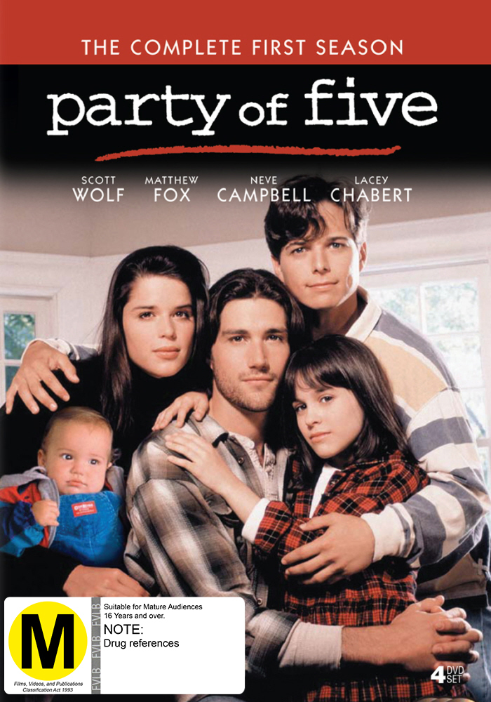 Party Of Five - Season 1 on DVD image