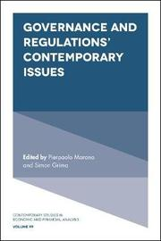 Governance and Regulations' Contemporary Issues