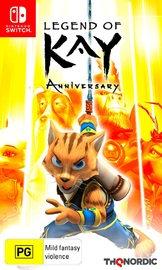 Legend of Kay Anniversary Edition for Nintendo Switch