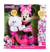 Disney: Minnie Sing And Spin Scooter Feature Plush