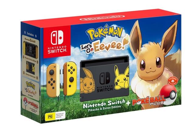Nintendo Switch Console - Pokemon: Let's Go, Eevee! for Nintendo Switch
