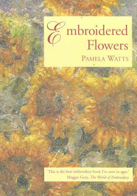 Embroidered Flowers by Pamela Watts image