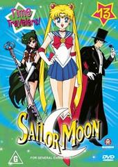 Sailor Moon Collection 13: Time Travelers! on DVD