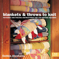 Blankets and Throws To Knit by Debbie Abrahams image