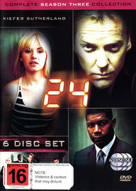 24 - Season 3 on DVD image