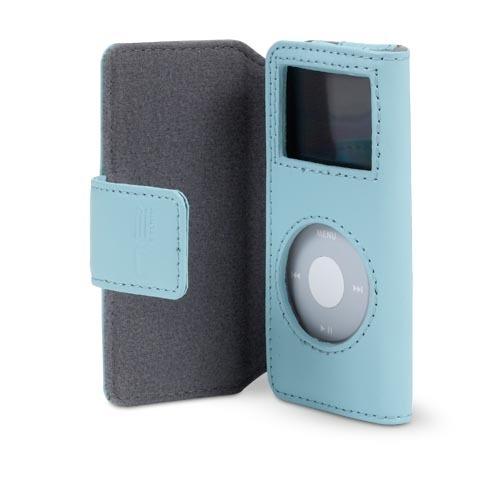 Belkin iPod nano Leather Folio Case - Blue