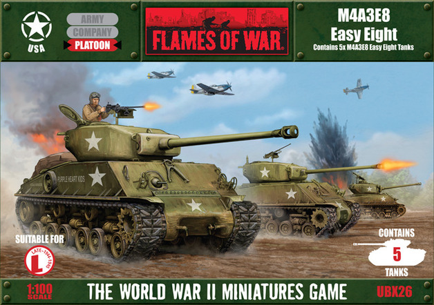 Flames of War - M4A3E2 Easy Eight