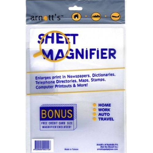 Flexible Magnifier Sheet Set