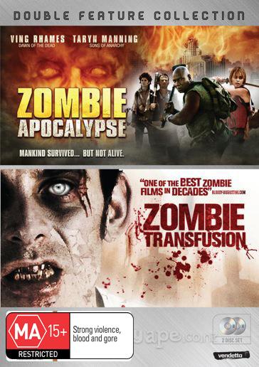 Zombie Apocalypse / Zombie Transfusion (2 Disc Set) on DVD