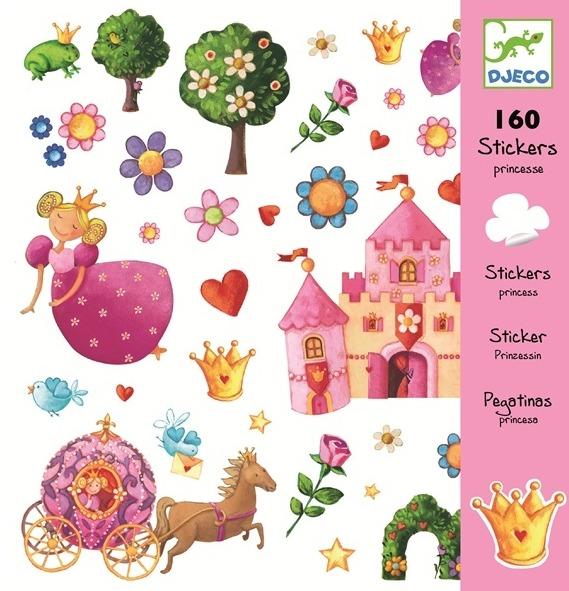 Djeco: Design - Princess Marguerite Stickers