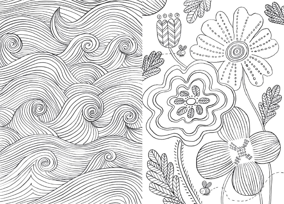 The Mindfulness Colouring Book | Emma Farrarons Book | In ...