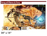 """HCD """"Song of Flame & Fury"""" Playmat"""
