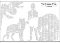 Spineless Classics Print The Jungle Book (70 x100cm)