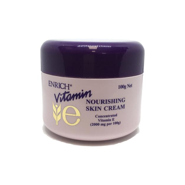 Enrich Vitamin E Nourishing Skin Cream Pot (100g)