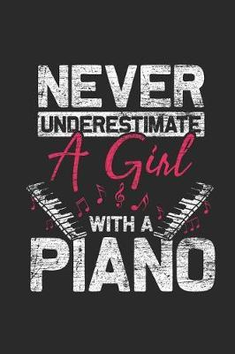 Never Undersetimate A Girl With A Piano by Piano Publishing