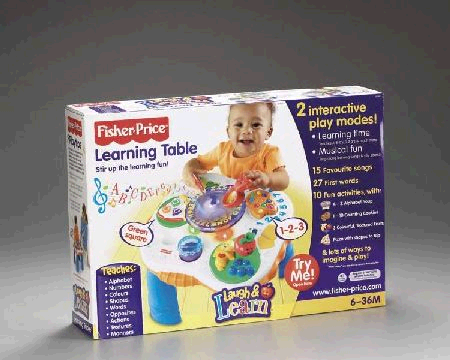 Fisher Price Learning Table image