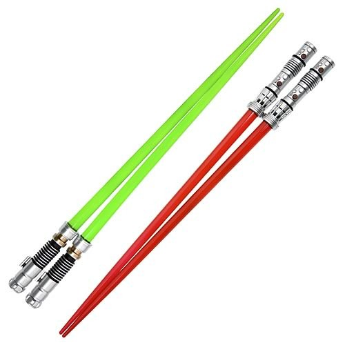 Star Wars Chopsticks Set - Darth Maul and Luke Lightsaber image