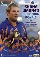 Shane Warnes IPL Rajasthan Royals (4 Disc Set) on DVD