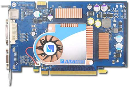 Albatron Video Card PC6600GT 128MB DDR TV OUT, PCI-EXPRESS image