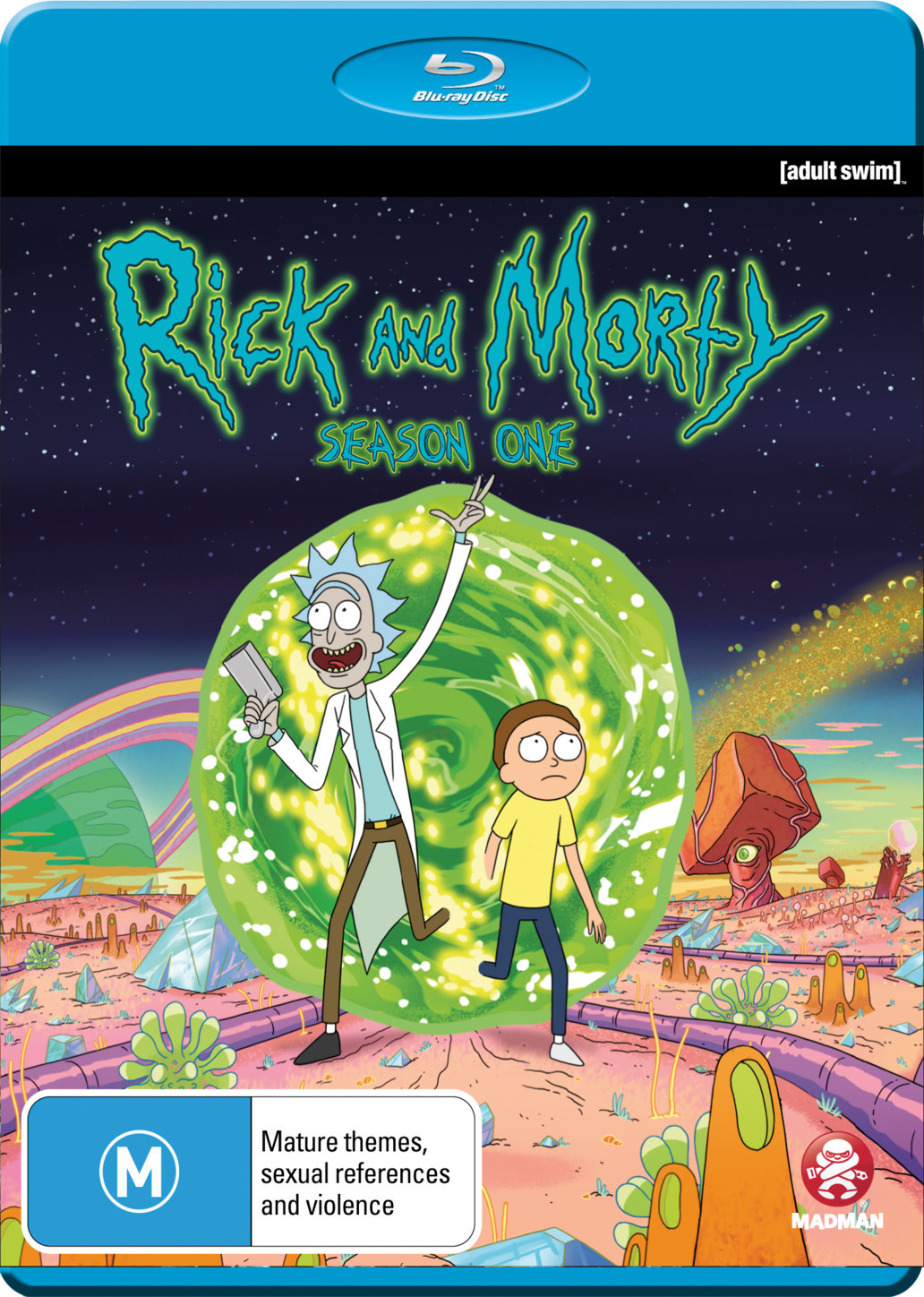 Rick and morty season 1 blu ray in stock buy now for Rick and morty craft list