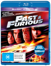 Fast And Furious UV on Blu-ray