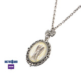 Doctor Who Weeping Angel Cameo Pendant Necklace