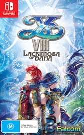 Ys VIII: Lacrimosa of Dana Day One Edition for Nintendo Switch