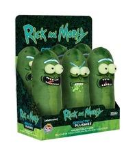 "Rick & Morty: Pickle Rick 7"" Plush - Annoyed image"